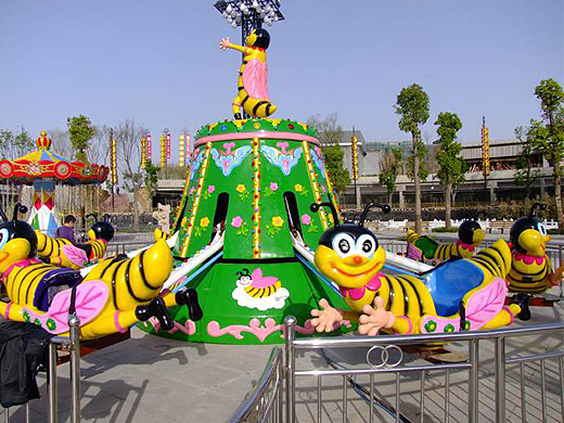 rotary bee amusement rides for kids